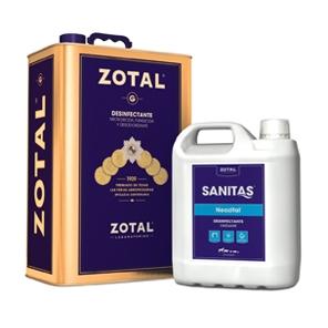 Que se agrupan bajo las marcas Zotal y Sanitas.