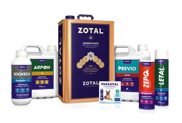 Zotal Laboratorios: Nueva imagen para ser más eficaces