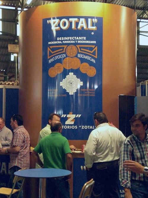 Laboratorios Zotal en la Feria de Zafra