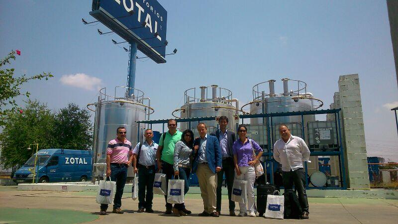 Visita de la empresa Agrosuplidores de Costa Rica