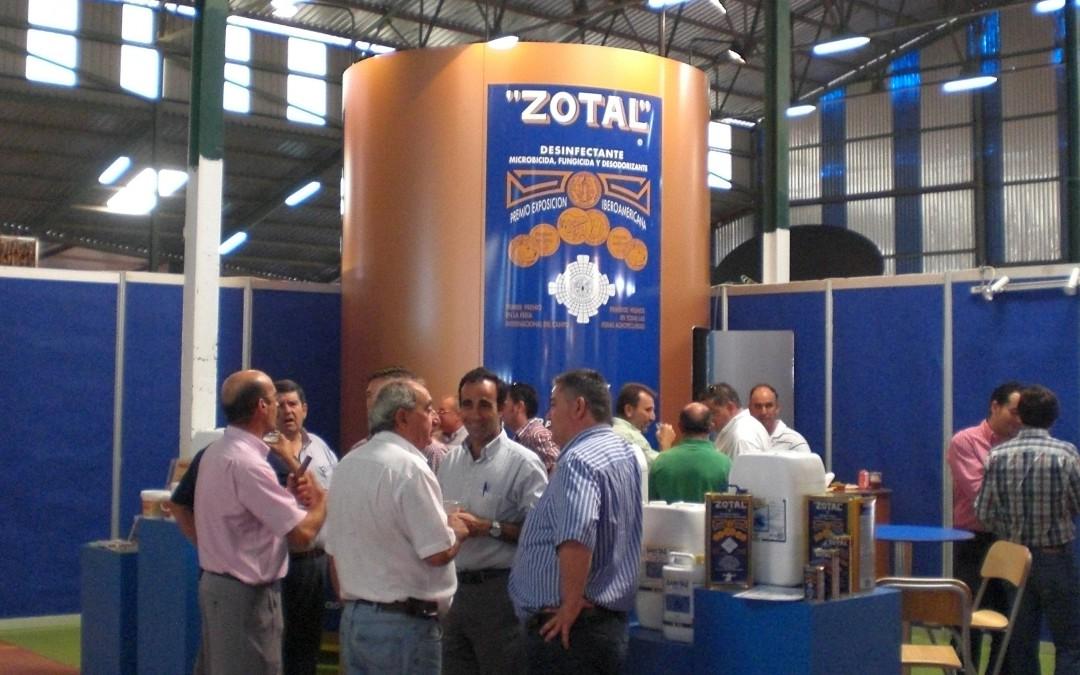Zotal Laboratorios: Más de cuarenta años participando en la Feria de Zafra