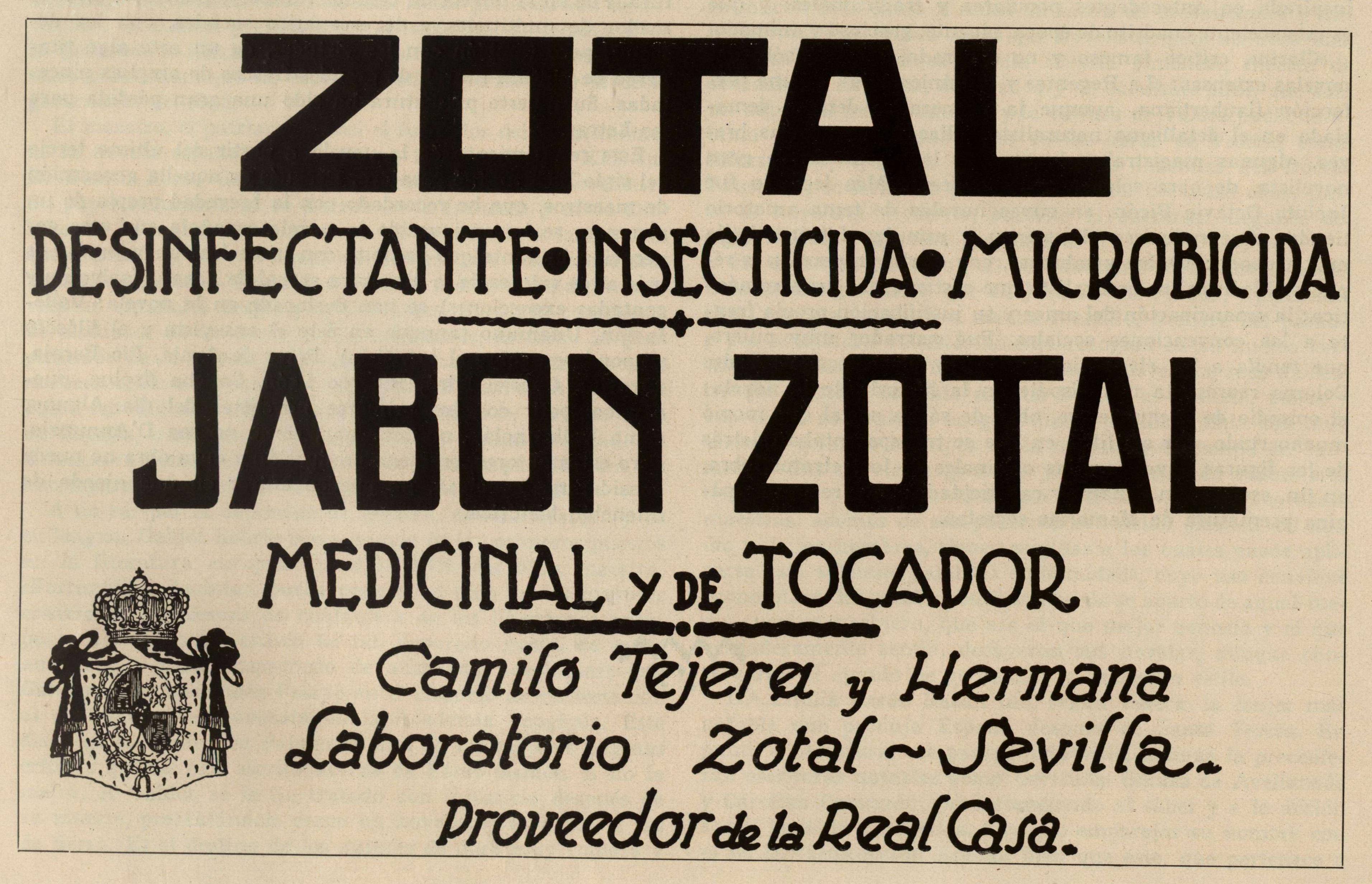 Jabón ZOTAL