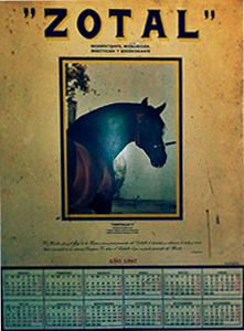 Calendario Zotal 1987