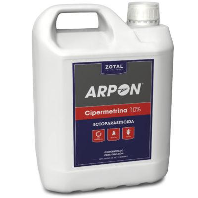 Arpon Cipermetrina 10% Ectoparasiticida