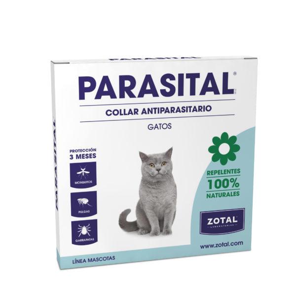 Parasital Collar Antiparasitario para Gatos