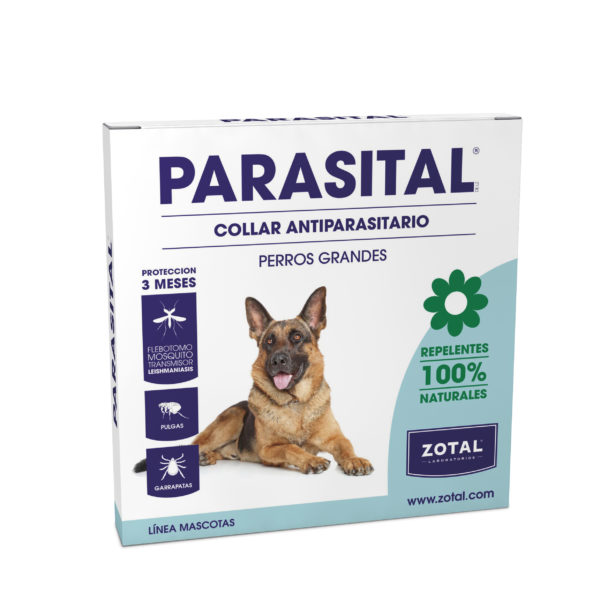 Parasital Collar Antiparasitario para Perros Grandes