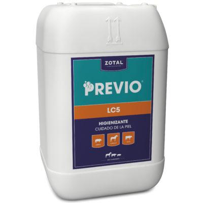 Previo LC5 higienizante para el cuidado de la piel