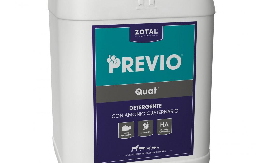 Limpieza de una nave ganadera con detergente Previo®