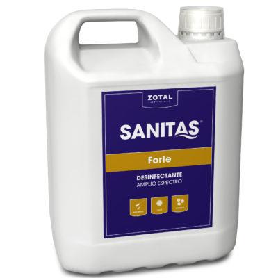 Sanitas Forte desinfectante de amplio espectro