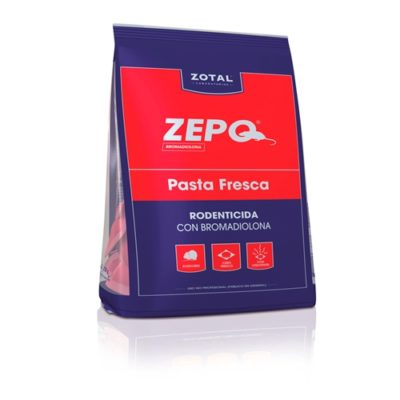Zepo Pasta Fresca rodenticida con bromadiolona
