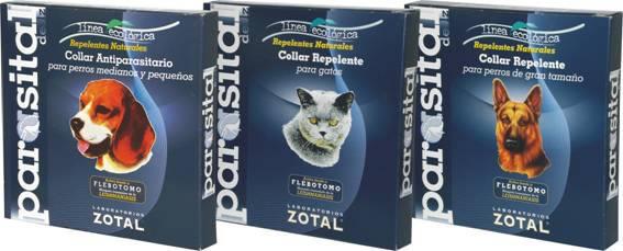 Laboratorios Zotal amplía su gama de Collares Repelentes PARASITAL