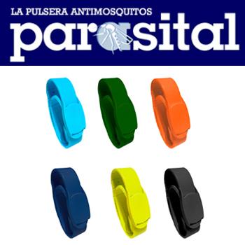Zotal presenta los nuevos colores de su pulsera repelente de mosquitos Parasital