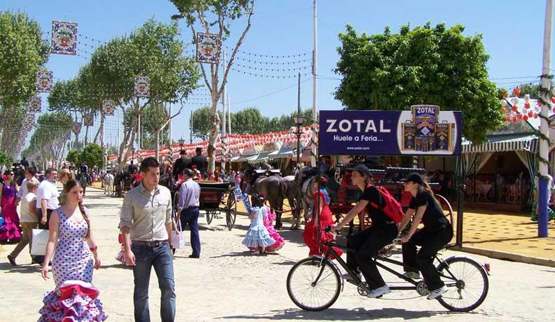 Zotal, un año más en la Feria de Abril de Sevilla