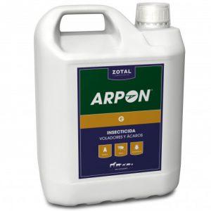 Arpon G, cómo desinfectar una granja con Zotal G