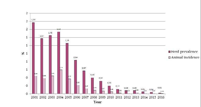 imagen gráfica ministerio del post Prevención de la brucelosis bovina