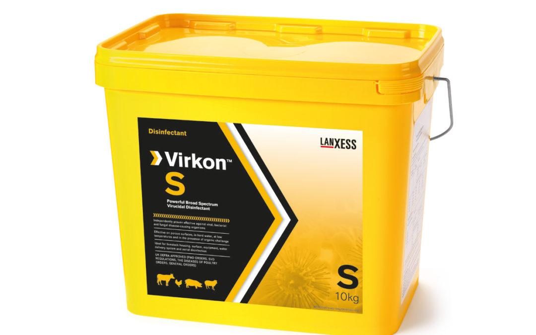 Cómo desinfectar con Virkon S