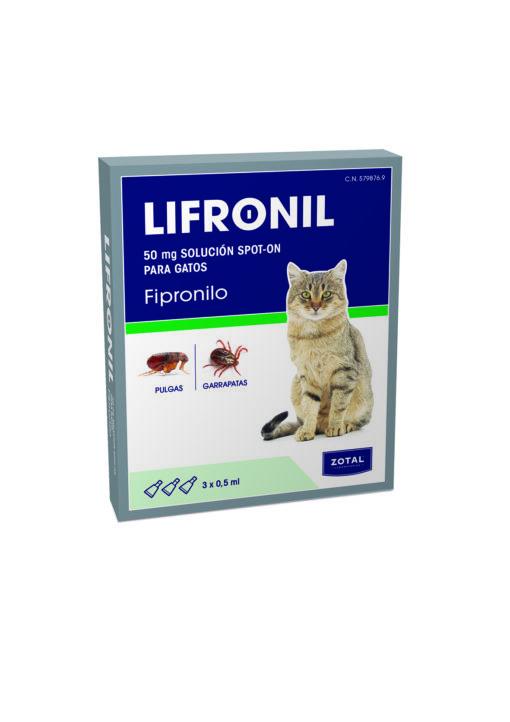lifronil pipetas gatos