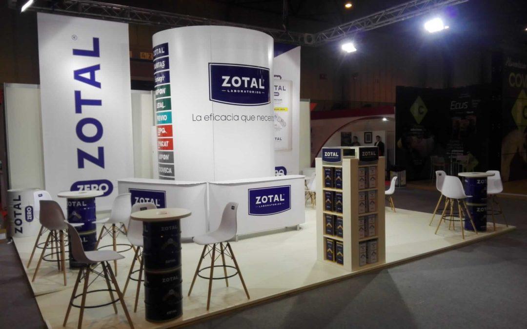Zotal Laboratorios, un año más en SICAB